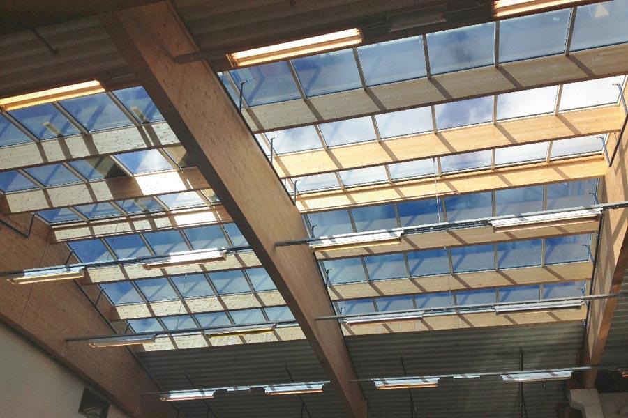 solfilm takfönster