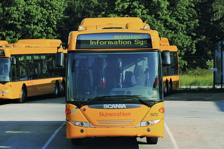 säkerhetsfilm till bussar